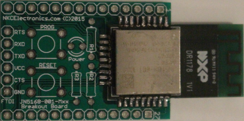 Soldering the JN5168-001-Mxx module to the PCB