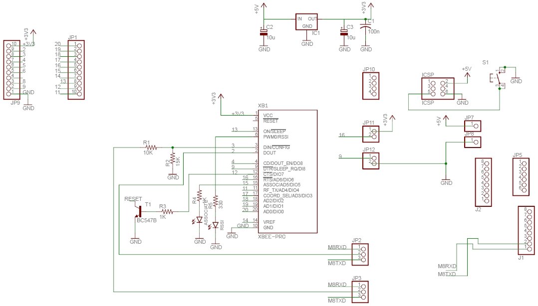 xbee shield v3.0 schematics